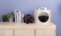 Vesmírné kajuty pro kočky od MyZoo Studia