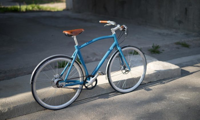 Roman Kvita navrhl městská jízdní kola pro českou značku Suveren