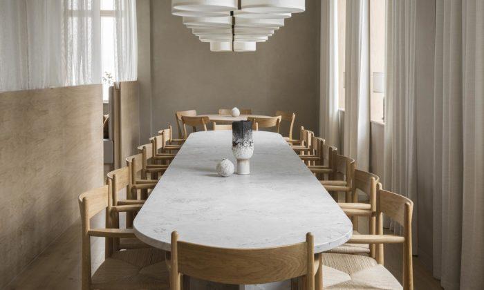 Norm Architects propojili vrestauraci Sticks N Sushi skandinávský design sjaponskou estetikou