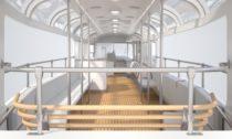 Vyhlídková tramvaj T3 Coupé od Anna Marešová designers