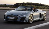 Audi R8 Spyder na rok 2019