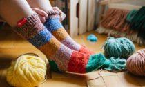 Ponožky odbabičky organizace Elpida
