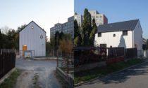 Dům přes dvůr v Praze od DDAANN