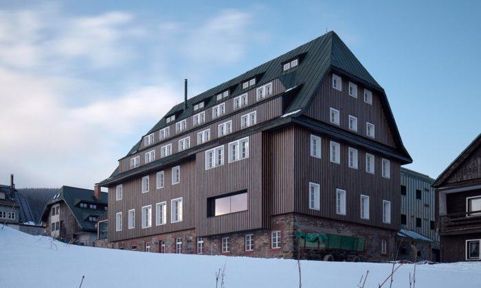 Tippeltova bouda vHorní Malé Úpě seproměnila naminipivovar Trautenberk