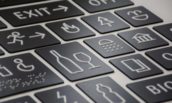 Hmatové písmo apiktogramy Tactus Type získaly Národní cenu za studentský design