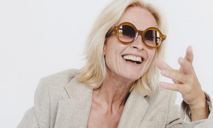 Nastassia Aleinikava navrhla pro slovenskou optiku IOKO výraznou kolekci brýlí
