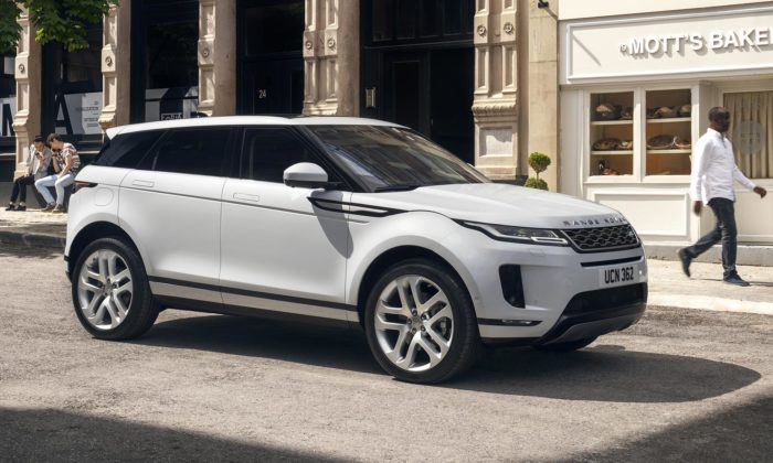 Land Rover ukázal nový Range Rover Evoque sjednodušším designem