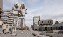 Robotiská restaurace a bar Cyberdog v Praze od Davida Černého a Tomáše Císaře