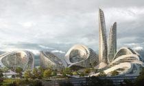 Rublyovo-Arkhangelskoye nedaleko Moskvy odZaha Hadid Architects