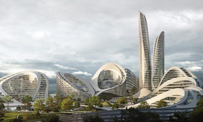 Zaha Hadid Architects postaví chytré město Rublyovo-Arkhangelskoye nedaleko Moskvy