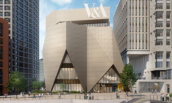 Victoria & Albert Museum serozšíří odvě nové budovy vlondýnském Olympijském parku