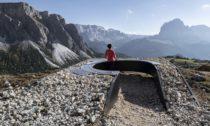 Vyhlídka Bella Vista II v Dolomitách od Messner Architects