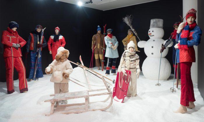 Tančící dům otevřel výstavu Retro zima za socíku s1300 předměty ze 70.a80.let