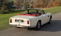 Aston Martin DB6 MkII Volante jako elektromobil