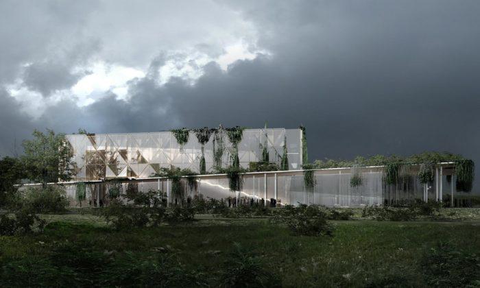 Polsko postaví zelení porostlé centrum hudby vrodišti Fryderyka Chopina