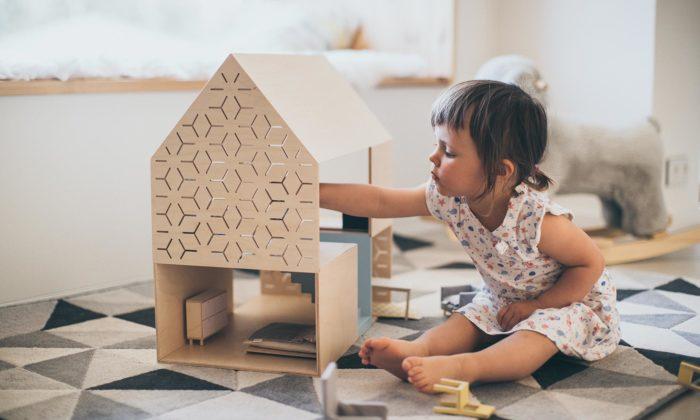 Česká značka Luckydes vyrábí dřevěné pelíšky pro mazlíčky adomečky pro panenky