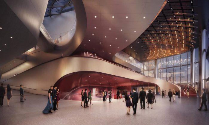 UNStudio vHongkongu postaví Lyric Theatre Complex setřemi divadly pod jednou střechou