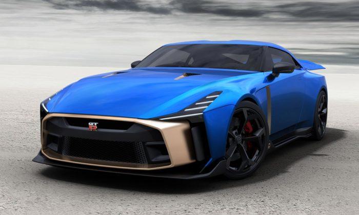 Výroční koncept Nissan GT-R50 odItaldesign jde dovýroby jen v50 kusech