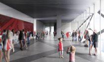 Feyenoord City v nizozemském Rotterdamu od OMA