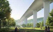 Renzo Piano anový most Ponte Genova