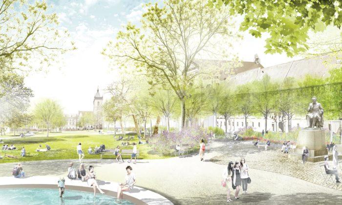 Karlovo náměstí vPraze seodroku 2019 začne proměňovat podle návrhu německého krajináře