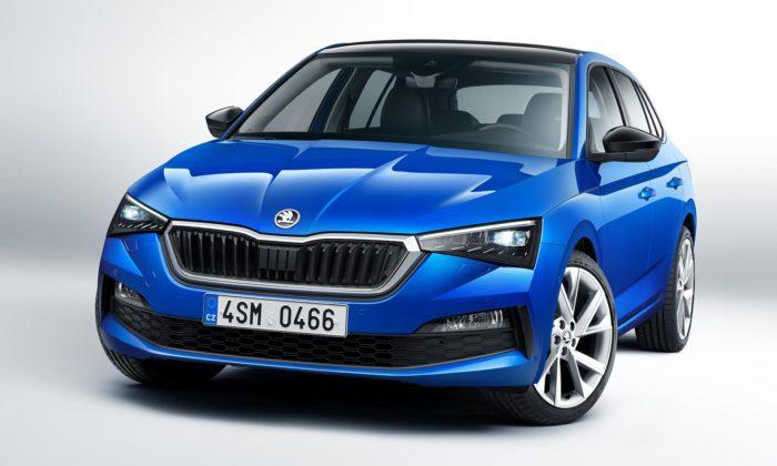 Škoda představila kompaktní model Scala sezcela novým designovým jazykem
