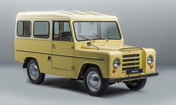 Škoda Trekka jepředchůdce dnešních SUV vyráběný naNovém Zélandu