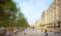 Vítězný návrh na nové řeešní Vítězného náměstí v Praze