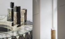 Jakub Berdych a ukázka z výstavy Cro-Magnon Man