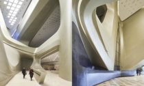 Nanjing International Youth Cultural Centre od Zaha Hadid Architects