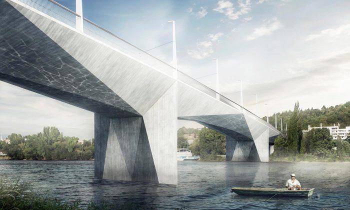 Praha postaví pro tramvaje ichodce nový Dvorecký most inspirovaný kubismem