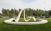 Loop před portským Science and Technology Park of the University of Porto