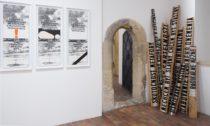 Ukázka z výstavy Sonda 1 – Příběh slovenského (post)konceptuálního umění