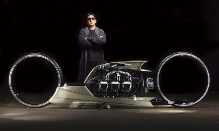 Bývalý závodník Tarso Marques navrhuje aručně vyrábí unikátní motorky