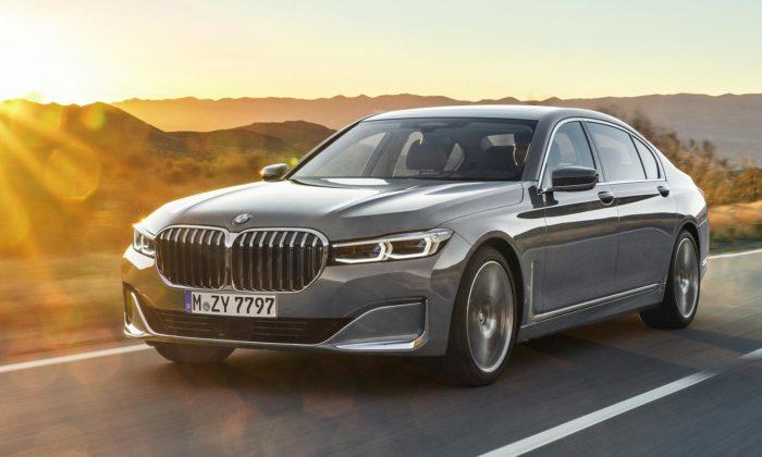 BMW představilo svůj vrcholný sedan řady 7 svýrazně přepracovaným designem