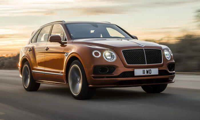 Bentley Bentayga Speed jenejrychlejší anejluxusnější SUV nasvětě