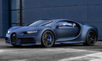 Bugatti Chiron Sport vespeciální verzi kvýročí 110 let značky