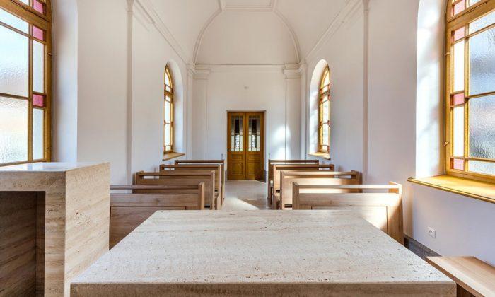 Sto let stará kaple svatého Václava vBrně dostala porekonstrukci nový interiér