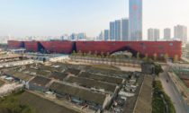 Longgang Cultural Centre v čínském Shenzhenu od Mecanoo