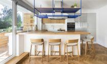 Rekonstruovaný byt slodžií vPraz odNo Architects