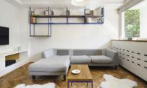 Rekonstruovaný byt s lodžií v Praz od No Architects