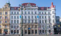 Budova na náměstí Republiky 7, kde se Prague Design Week 2019 v dubnu uskuteční (foto: Swoboda & Williams)