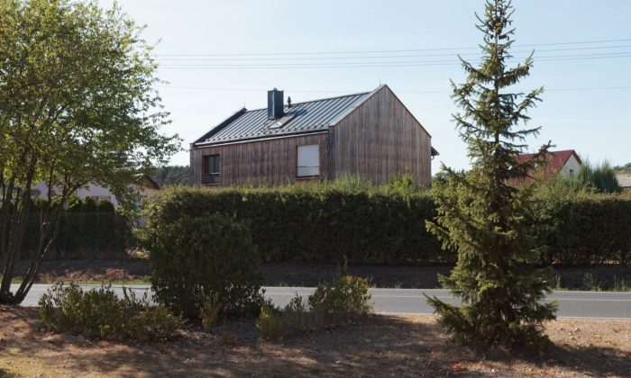 Z víkendové chaty vLetech sestal potřech letech plnohodnotný rodinný dům