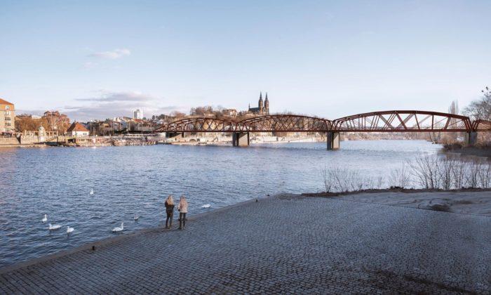 Praha představila novou podobu rozšířeného železničního mostu naVýtoni