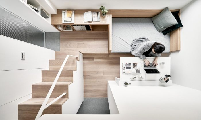 A Little Design navrhli interiér bytu svelikostí necelých 18 metrů čtverečních