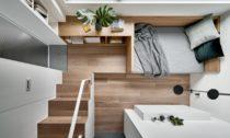 Byt s plochou 17,6 metrů čtverečních na Tchaj-wanu od A Little Design