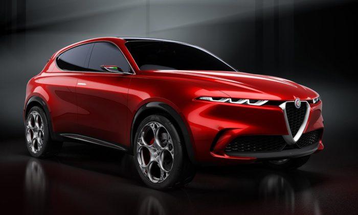 Alfa Romeo představuje přitažlivý koncept SUV sejménem Tonale