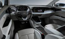 Koncept elektricky poháněného vozu Audi Q4 e-tron