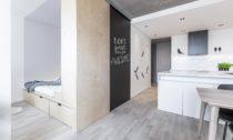 Realizace rekonstrukce bytu Červený Vrch v Praze od DesignPro