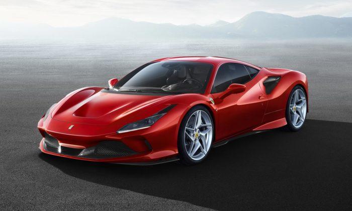 Ferrari F8 Tributo jenový model ukazující další směřování designu značky